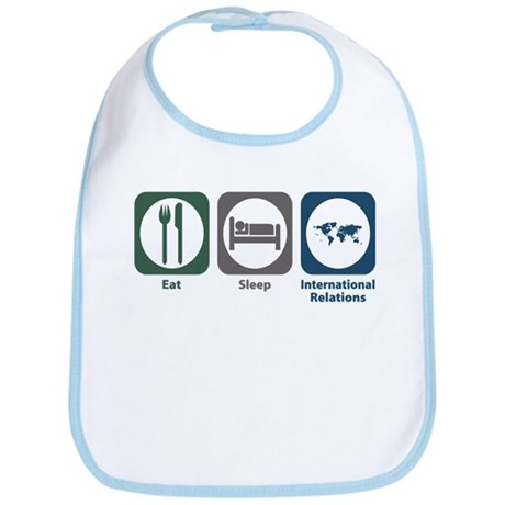 Eat Sleep International Relations Bib