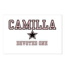 Camilla - Name Team Postcards (Package of 8)