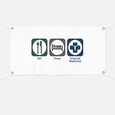 Eat Sleep Internal Medicine Banner