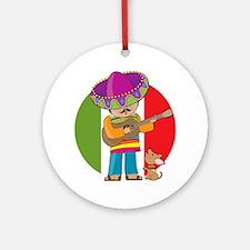 Little Mexico Ornament (Round)