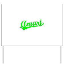 Retro Amari (Green) Yard Sign