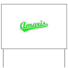 Retro Amaris (Green) Yard Sign
