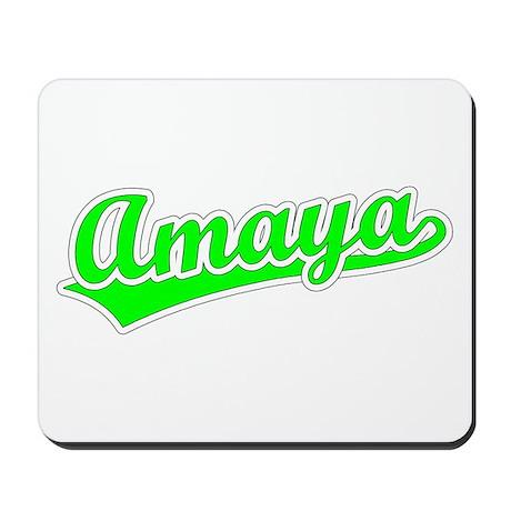 Retro Amaya (Green) Mousepad