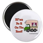 RV'ers Do It On The Road Magnet