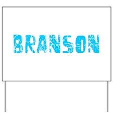 Branson Faded (Blue) Yard Sign