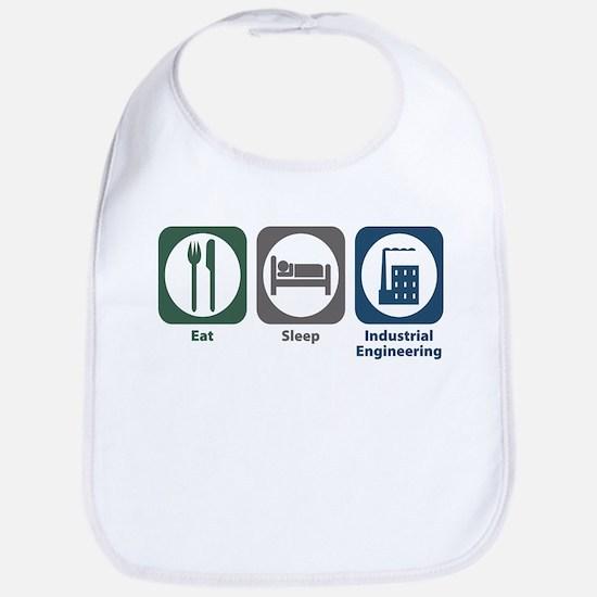 Eat Sleep Industrial Engineering Bib