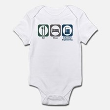 Eat Sleep Industrial Engineering Infant Bodysuit