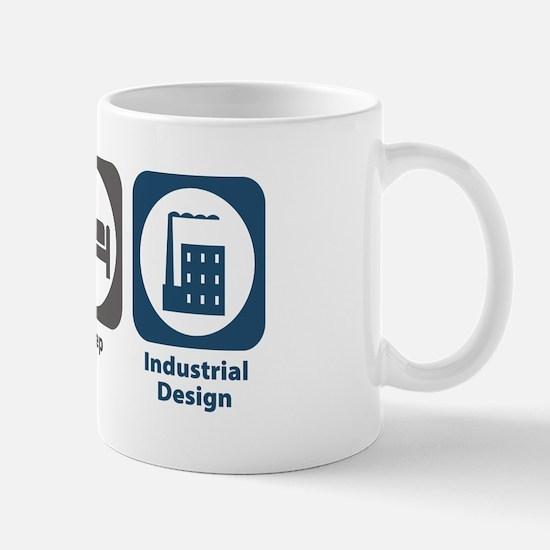 Eat Sleep Industrial Design Mug