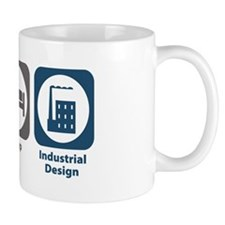 Eat Sleep Industrial Design Mug