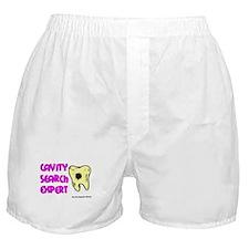 Dental Cavity Search Expert Boxer Shorts