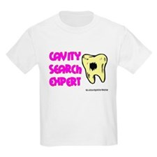 Dental Cavity Search Expert Kids T-Shirt