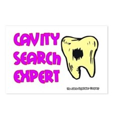 Dental Cavity Search Expert Postcards (Package of