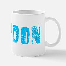 Braydon Faded (Blue) Mug