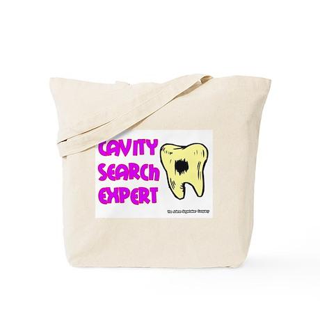 Dental Cavity Search Expert Tote Bag