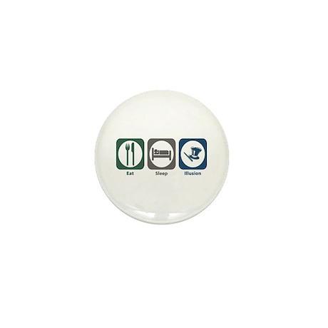 Eat Sleep Illusion Mini Button (10 pack)