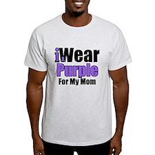 I Wear Purple For My Mom T-Shirt