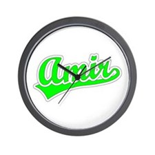 Retro Amir (Green) Wall Clock