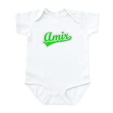 Retro Amir (Green) Infant Bodysuit