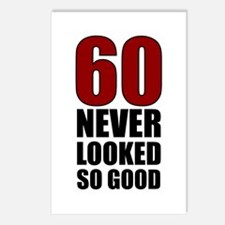 60 Never Looked So Good Postcards (Package of 8)