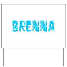 Brenna Faded (Blue) Yard Sign