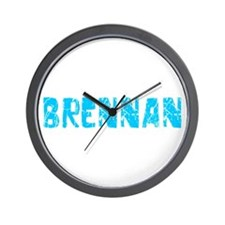 Brennan Faded (Blue) Wall Clock