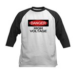 Danger! High Voltage Kids Baseball Jersey