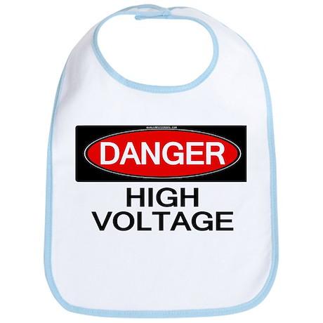 Danger! High Voltage Bib