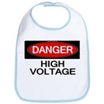 Danger! High Voltage Bib