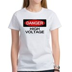 Danger! High Voltage Women's T-Shirt