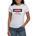 Danger! High Voltage Women's T-Shirt