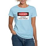 Danger! High Voltage Women's Light T-Shirt