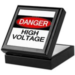 Danger! High Voltage Keepsake Box