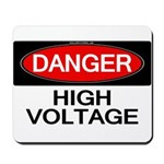 Danger! High Voltage Mousepad