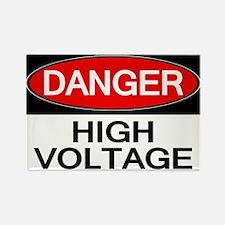 Danger! High Voltage Rectangle Magnet