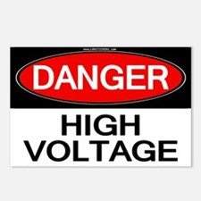 Danger! High Voltage Postcards (Package of 8)