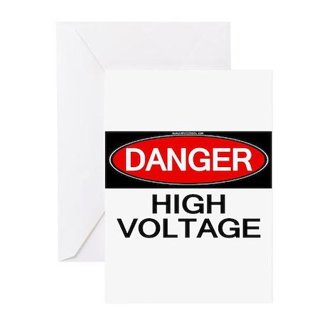 Danger! High Voltage Greeting Cards (Pk of 10)