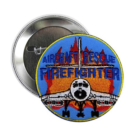 "NY NJ Airports Firefighter 2.25"" Button"