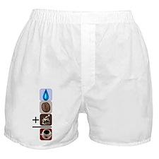 Coffee Formula Boxer Shorts