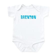 Brenton Faded (Blue) Infant Bodysuit