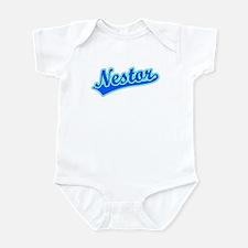 Retro Nestor (Blue) Infant Bodysuit
