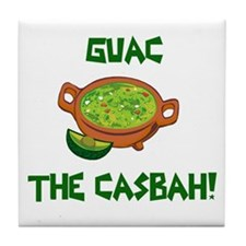 GUAC The Casbah! Tile Coaster