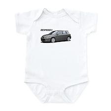 Silver MS3 Infant Bodysuit