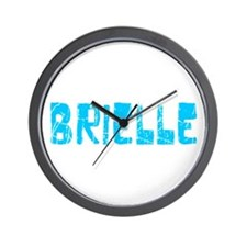 Brielle Faded (Blue) Wall Clock