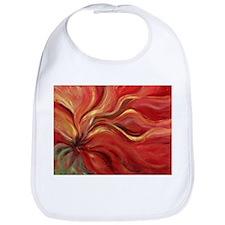 Flaming Flower Bib