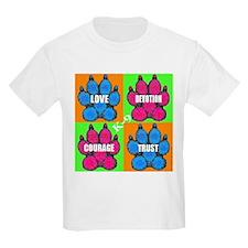 Rainbow Paws Kids T-Shirt
