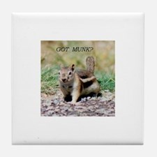 chipmunks Tile Coaster