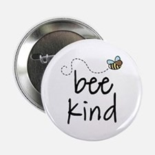 "Be Kind Garden Bee 2.25"" Button"