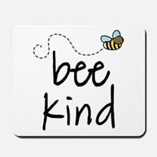 Be Kind Garden Bee Mousepad