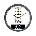 Space Missionary Wall Clock