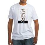 Space Missionary Fitted T-Shirt